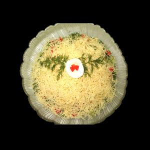 Салат Ветчина с сыром
