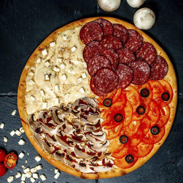 """Пицца """"Четыре Вкуса"""""""